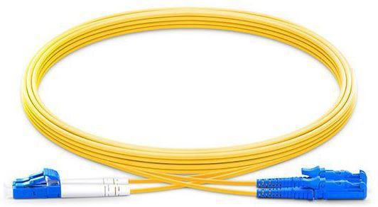 Microconnect FIB473002 fibre optic cable 2 m E-2000 LC OS1/OS2 Yellow