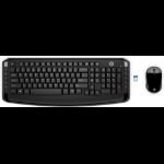 HP 300 keyboard RF Wireless Black