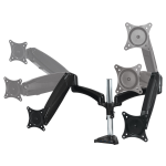 ARCTIC Z2-3D - Dual Monitor Arm with Gas Lift Technology