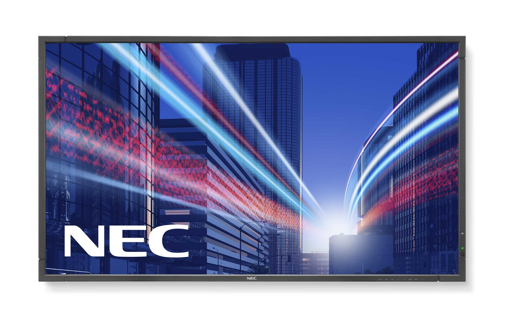 "NEC MultiSync P801 Digital signage flat panel 80"" LED Full HD Black"