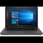 "HP 250 G6 Notebook Black 39.6 cm (15.6"") 1366 x 768 pixels 7th gen Intel® Core™ i3 4 GB DDR4-SDRAM 1000 GB HDD AMD Radeon 520 Wi-Fi 5 (802.11ac) Windows 10 Home"