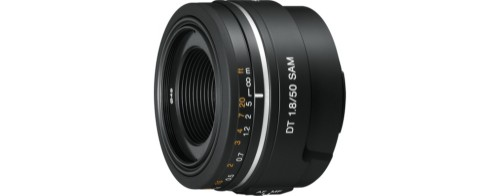 Sony SAL50F18 camera lens