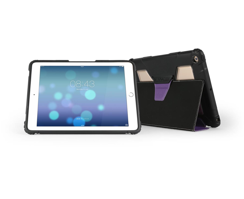 """Max Cases AP-EF-IP5-9-PRPL tablet case 24.6 cm (9.7"""") Folio Purple"""