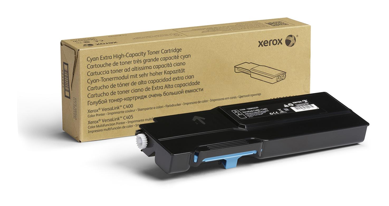 Xerox VersaLink C400/C405 cartucho de tóner cian de capacidad máxima (8000 páginas)
