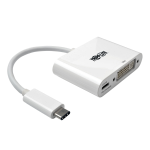 Tripp Lite U444-06N-D-C USB C DVI-I White video cable adapter