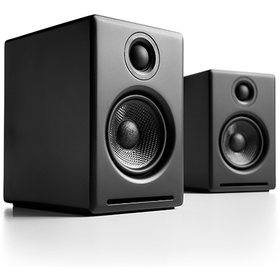 Audioengine A2+ 2-way 30 W Black Wired & Wireless