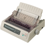 OKI ML3390eco 24 pin 390cps 80 column mono dot matrix IBM/Epson USB/parallel, 3 year warranty (upon registration)