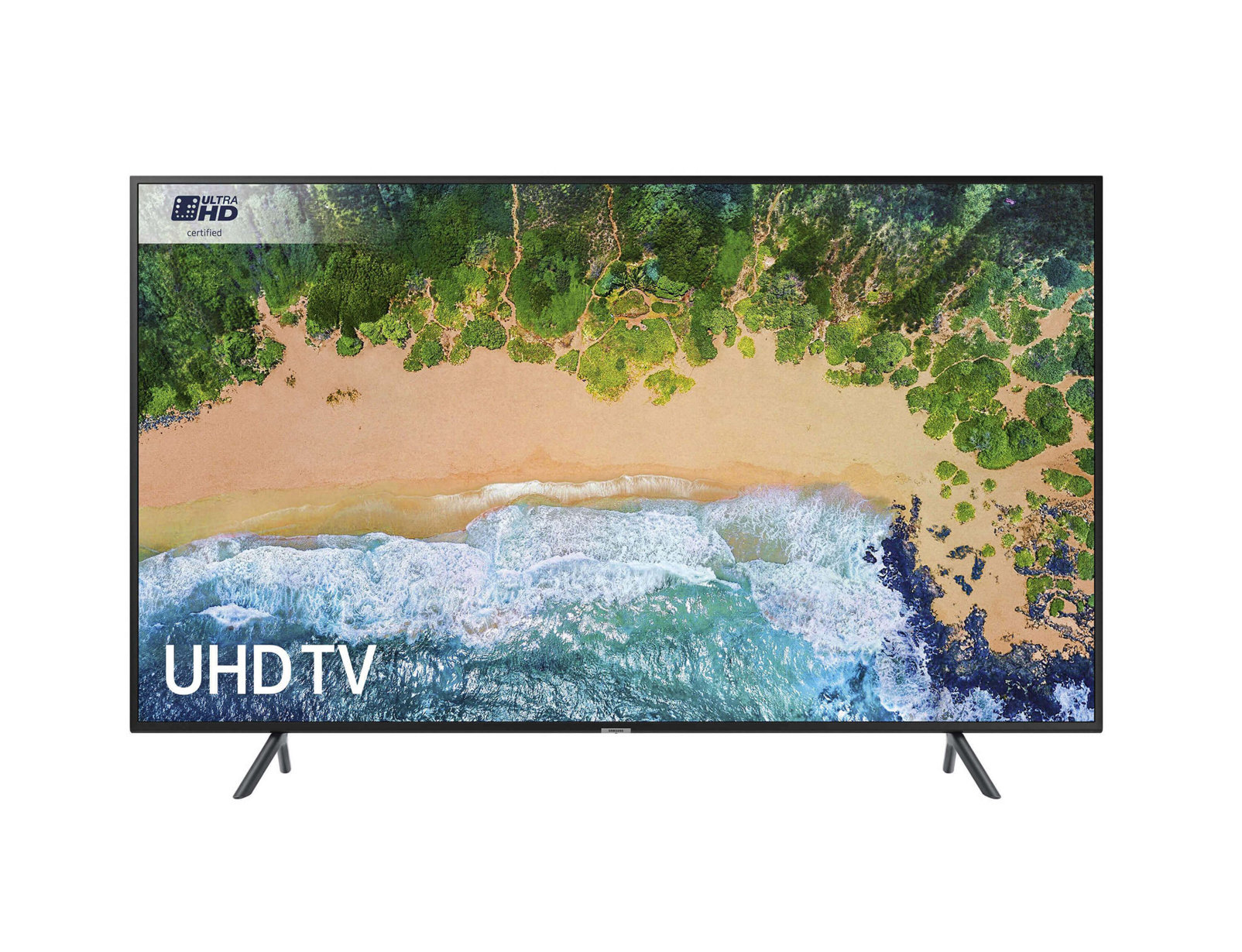 "Samsung UE49NU7100K 49"" 4K Ultra HD Smart TV Wi-Fi Black LED TV"
