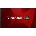 """Viewsonic CDE5520 signage display Digital signage flat panel 55"""" IPS 4K Ultra HD Black Built-in processor Android 8.0"""