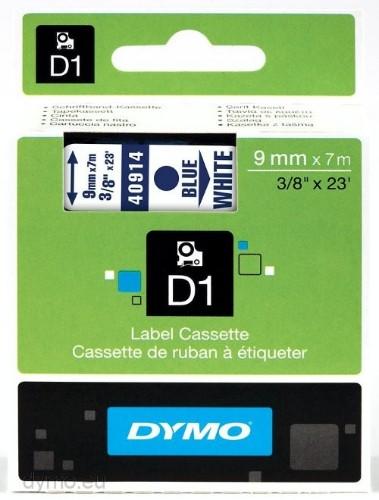 DYMO 40914 (S0720690) DirectLabel-etikettes, 9mm x 7m