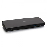 C2G USB-C® 14-in-1 Triple Display Docking Station with HDMI®, DisplayPort™, Ethernet, USB, 3.5mm Audio and Power Delivery up to 85W - 4K 30Hz (TAA Compliant)