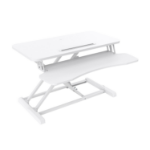 V7 DT2SSW Sit Stand Essential Desktop - White