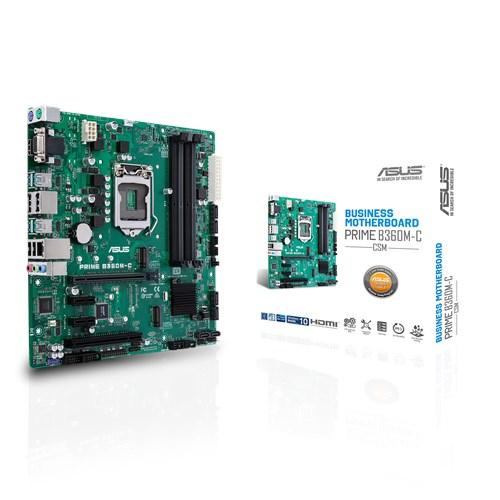 ASUS PRIME B360M-C/CSM motherboard Micro ATX Intel® B360