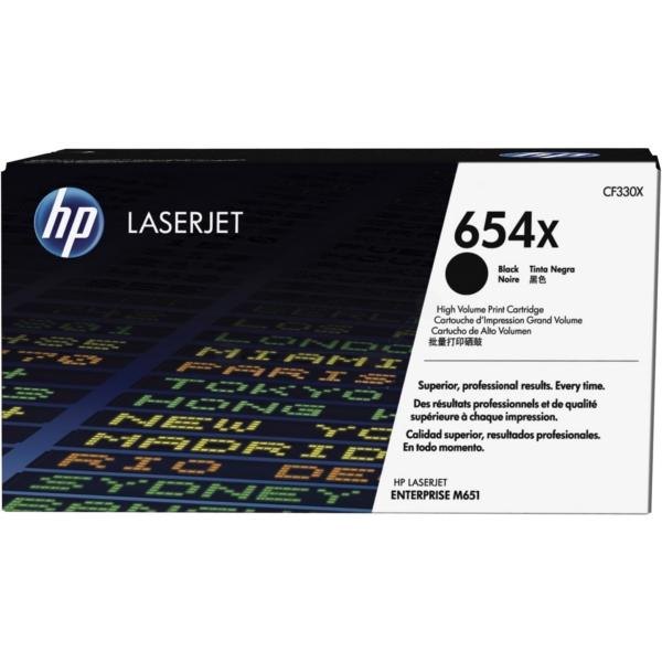 HP CF330X (654X) Toner black, 20.5K pages