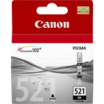Canon 2933B001 (CLI-521 BK) Ink cartridge black, 1.25K pages, 9ml