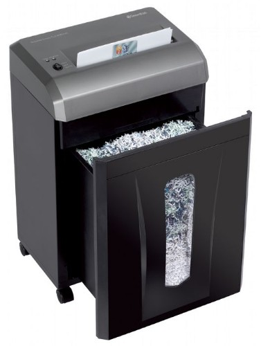 Swordfish 800XXC paper shredder Particle-cut shredding 22.5 cm 55 dB Black, Grey