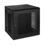 CyberPower CR12U51001 rack cabinet 12U Wall mounted rack Black