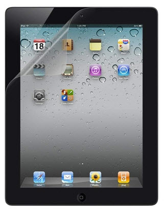 Screen Overlay Pet iPad3g Transpare