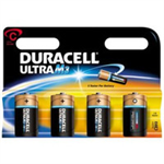 Duracell Ultra Power C 4PK Alkaline 1.5V non-rechargeable battery