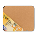 3M Sticky Cork Board Corkwood Brown