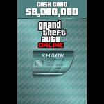Microsoft GTA V Megalodon Shark Cash Card Xbox One