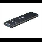 Akasa AK-ENU3M2-02 storage drive enclosure M.2 SSD enclosure Black