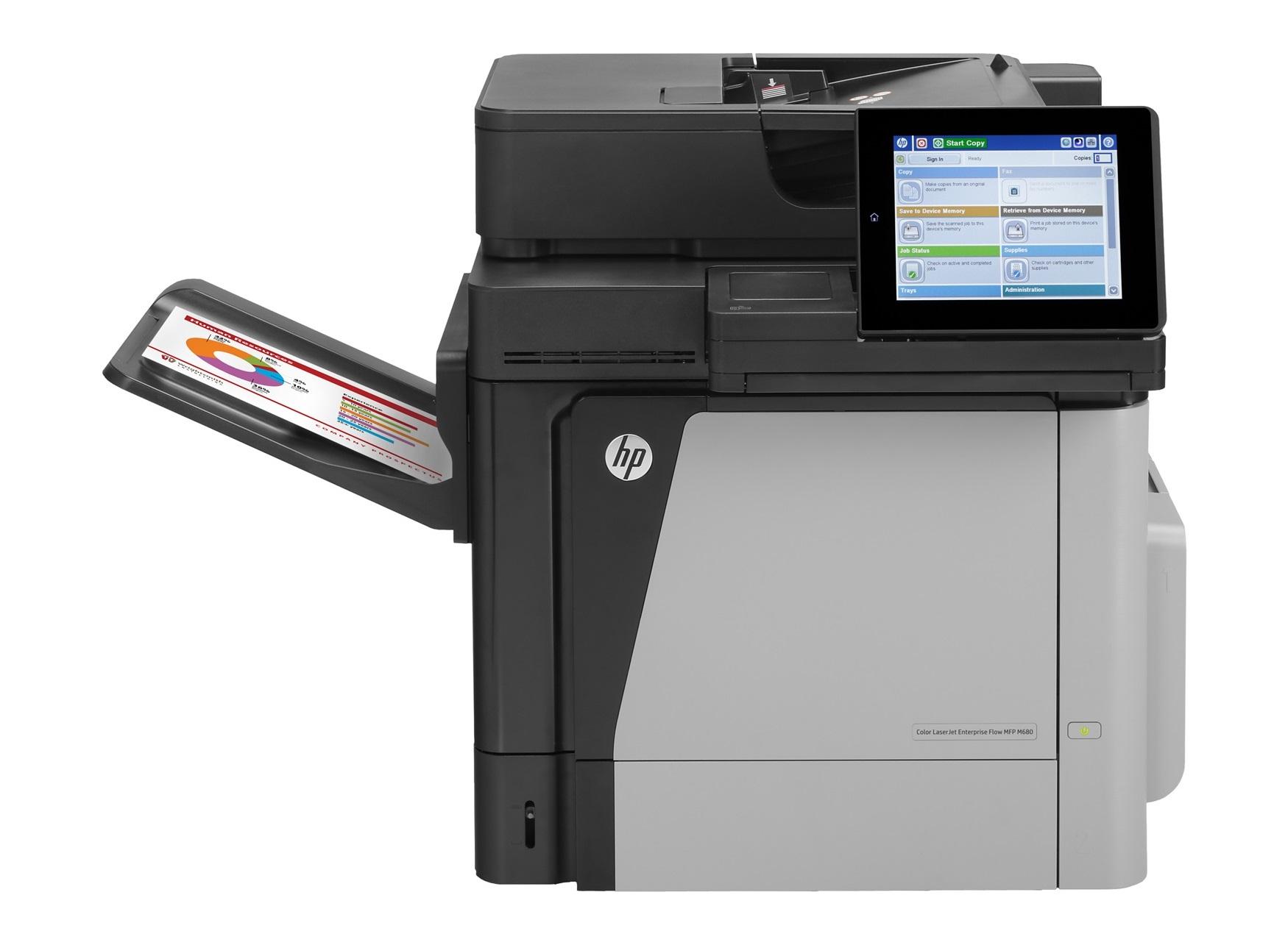 HP LaserJet Managed MFP M680dnm Laser A4 Black,Grey
