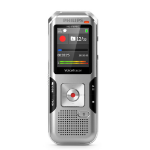 Philips DVT4010 dictaphone Internal memory & flash card Silver