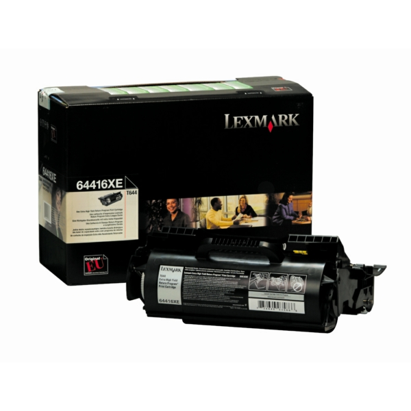 Lexmark 64416XE Toner black, 32K pages