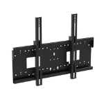 Loxit 8563 flat panel wall mount Black