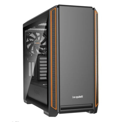 be quiet! Silent Base 601 Window Midi-Tower Black,Orange