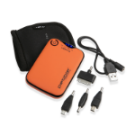 Veho Pebble Verto power bank Orange 3700 mAh