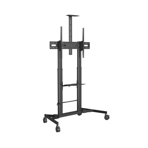 "Vision VFM-F25 flat panel floorstand 2.54 m (100"") Portable flat panel floor stand Black"