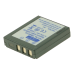 2-Power Digital Camera Battery 3.7V 800mAh