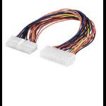 Microconnect PI10133 Internal 0.25m Multicolour power cable