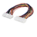 Microconnect PI10133 Internal 0.25m Multicolour power cable