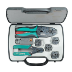 Pro'sKit 6PK-330K Tool set Black,Green,Grey cable crimper