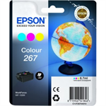 Epson C13T26704020 (267) Ink cartridge color, 200 pages, 7ml