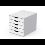 Durable VARICOLOR Mix 5 file storage box Plastic Multicolour, White