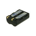 2-Power Digital Camera Battery 7.4v 1400mAh