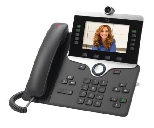 Cisco 8845 IP phone Charcoal LCD