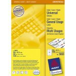 Avery Universal Labels, White 105x42,3mm self-adhesive label 1400 pc(s)