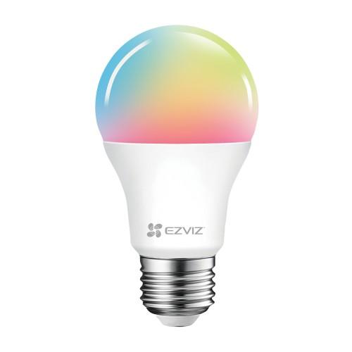 EZVIZ White/Colour Ambiance LED E27 Single Smart Bulb - A+ Rated