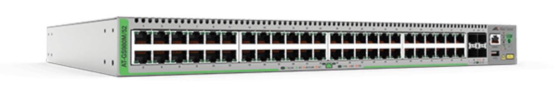Allied Telesis AT-GS980M/52-50 Gestionado Gigabit Ethernet (10/100/1000) Gris