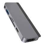 HYPER HD319B USB 3.2 Gen 1 (3.1 Gen 1) Type-C Grey
