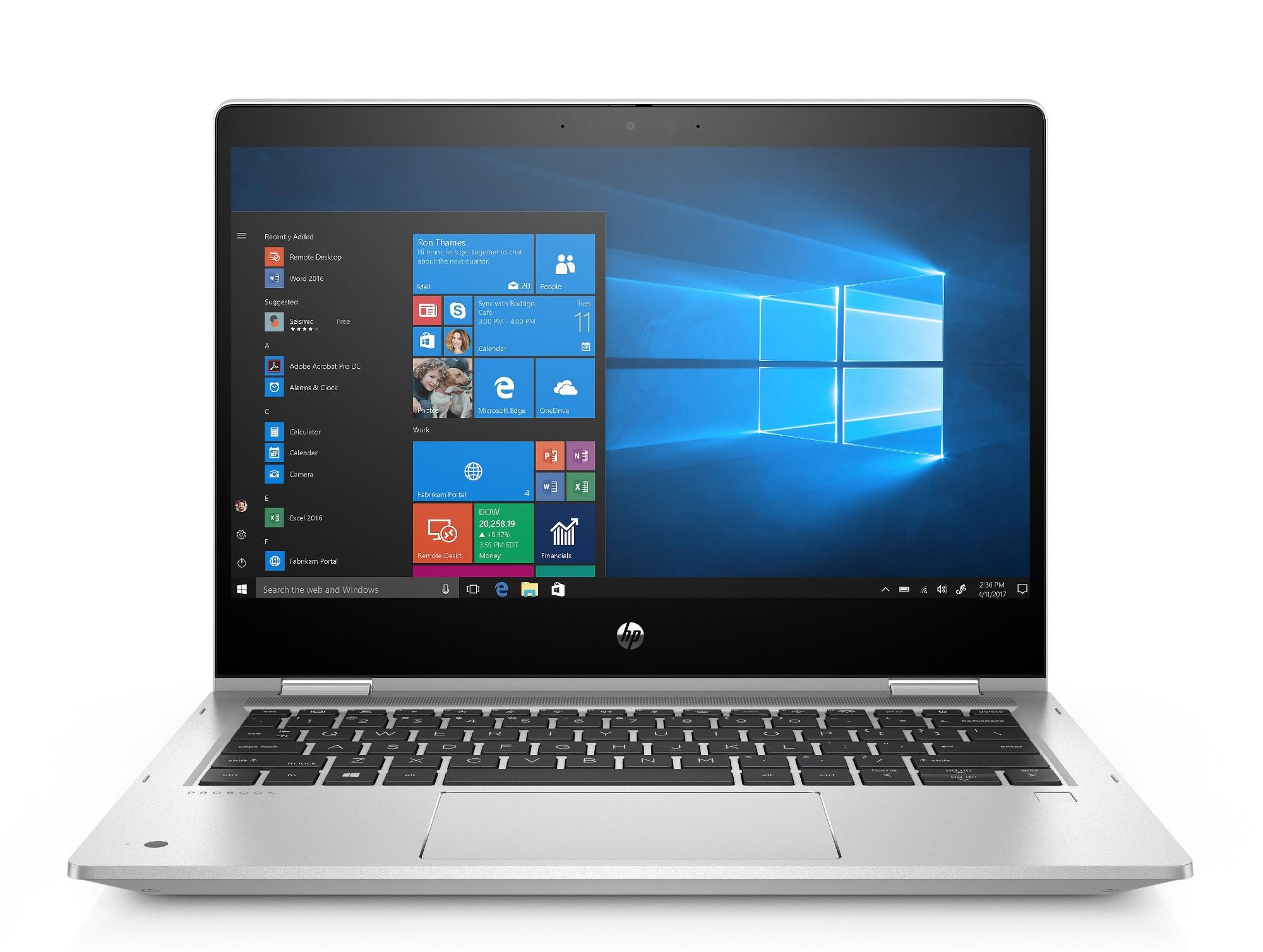 HP ProBook x360 435 G7 Notebook PC (8RA64AV) Hybrid (2-in-1) Silver 33.8 cm (13.3