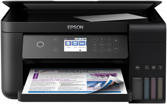 Epson EcoTank ET-3700 Inkjet 33 ppm 4800 x 1200 DPI A4 Wi-Fi