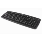 Kensington ValuKeyboard USB+PS/2 AZERTY Dutch Black keyboard