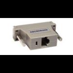 Raritan ASCSDB25M cable interface/gender adapter RJ-45 DB25 Gray