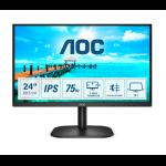 """AOC 24B2XH computer monitor 60.5 cm (23.8"""") 1920 x 1080 pixels Full HD LED Black"""